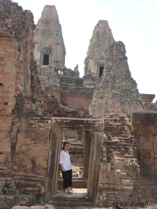 Taking in Cambodian ruins - the gift of travel