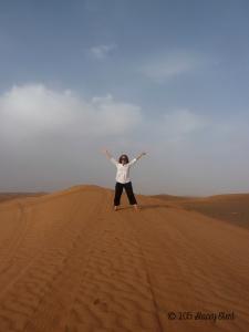 Sand Dunes in Dubai
