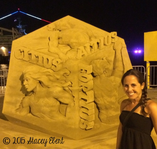 3rd Place - Labor Day Sand Sculpting Challenge - the gift of travel