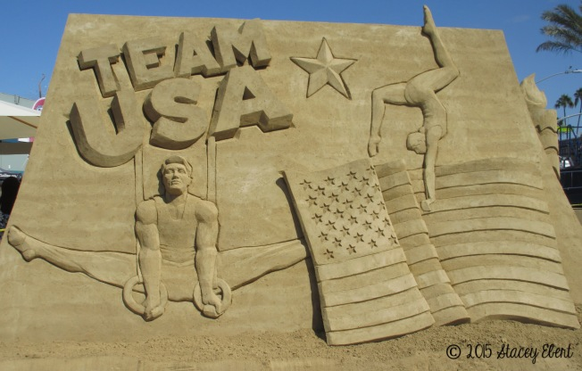Labor Day Sand Sculpting Competition - the gift of travel