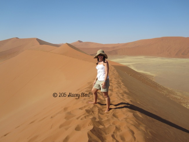 at Soussevlei Dune 45 - the gift of travel