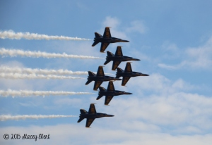 Blue Angels perform at the Air Show San Diego