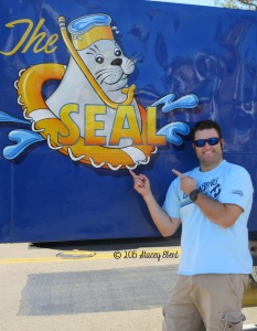 Mat about to embark on The SEAL Tour San Diego - thegiftoftravel.wordpress.com