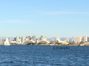 San Diego Skyline from SEAL Tour - thegiftoftravel.wordpress.com