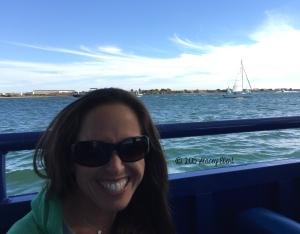 Stacey on SEAL Tour San Diego - thegiftoftravel.wordpress.com
