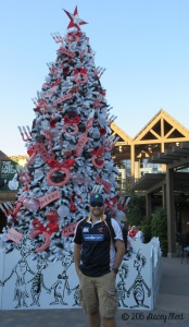 Merry Christmas from Old Globe Theatre in Balboa Park - thegiftoftravel.wordpress.com