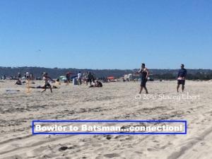 bowler to batsman