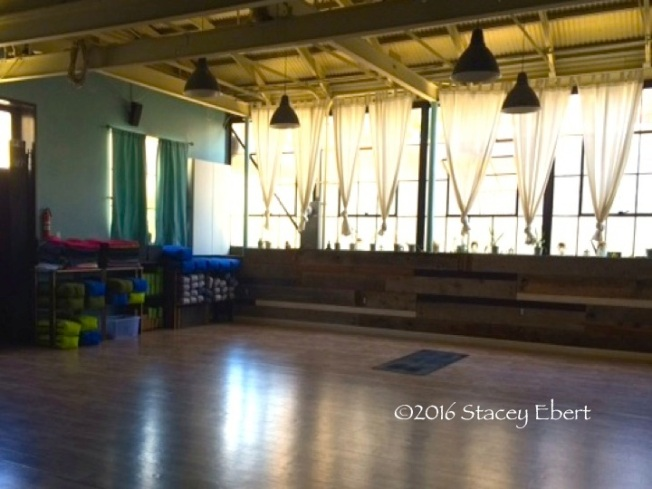 yoga studio - East Village, San Diego - thegiftoftravel.wordpress.com