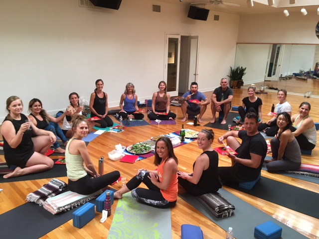 Yoga One San Diego Summer Intensive Teacher Training Class 2018